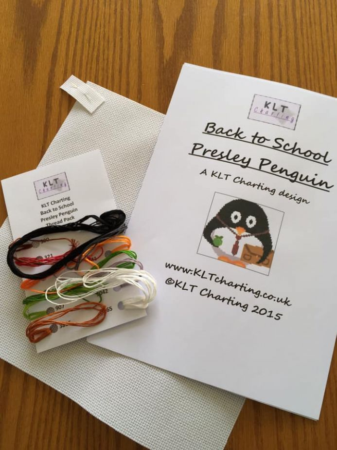 Back to School Presley Penguin Full Kit